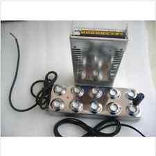 10 head Ultrasonic mist maker fogger humidifier +transformer