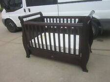 """BOORI COUNTRY COLLECTION SLEIGH COT WITH UNDER DRAWER """"UNCLAIMED STORAGE"""""""