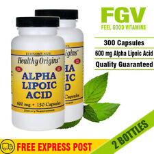 Healthy Origins - ALPHA LIPOIC ACID, 600MG, 150 CAPS