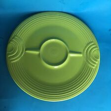 Homer Laughlin Fiesta CHARTREUSE Hostess Tray