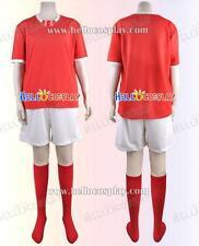 Inazuma Eleven Cosplay Korea's Fire Dragon team Sports Uniform H008