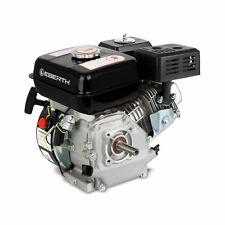 EBERTH 6,5CV 4,8kW moteur à essence thermique 4 temps 1 cylindre 20mm noir