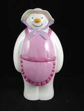 COALPORT LTD. ED. THE LADY SNOWMAN SUGAR SHAKER 303 / 500