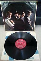"""Rolling Stones Self Titled Vinyl 12"""" LP LK 4605 2/A 3/A Press 1964"""