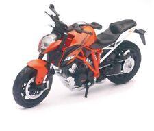 New Ray 1/12 KTM 1290 Super Duke R Motorcycle Bike Diecast Model Orange 57653