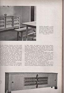DÉCORS 1945 EDITION ORIGINALE REVUE D'ART & COLLECTION LE RAYONNEMENT FRANÇAIS