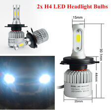 2x Car Auto H4 LED Fog Headlight Bulbs Waterproof 360° Heat Radiating Aluminum