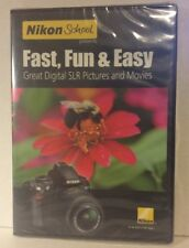 Nikon School presents Fast Fun & Easy Digital SLR Pictures Movies DVD 2012 NEW
