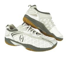 Harrow Vortex Court Shoes White Grey Squash Racquetball Size 7 Men / 8.5 Women