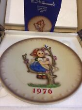 Vintage 1976 Goebel Hummel #269 Tmk5 Annual Plate 7.5� Apple Tree Girl In Box