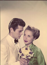 Janet Leigh & Tony Curtis Vintage ORIGINAL Color 8x10 Transparency John Engstead