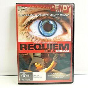 Requiem For A Dream DVD 2000 Psychological Drama - Jared Leto - Region 4