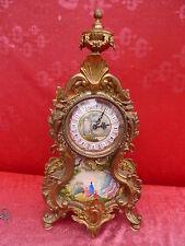 sehr schöne, alte Kaminuhr__Franz Hermle__ hochwertige Uhr__46,5cm __6,5kg !