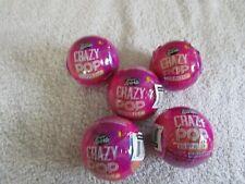 Cra Z Art Shimmer & Sparkle Crazy Pop Surprise Blind Bag Ball Makeup Lot Of 5