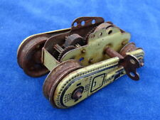 DRGM GAMA - WWI CHAR / Tank - RENAULT T56 - TIN TOY - POUR PIECES / For parts