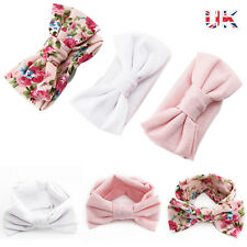 3pcs Newborn Headband Flexible Elastic Baby Hair Band Girls Bow-knot Decoration