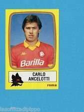 PANINI CALCIATORI 1985/86 -FIGURINA n.212- ANCELOTTI - ROMA -Rec