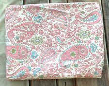 Pottery Barn Kids Brooklyn Paisley Floral TWIN Duvet Cover 5% Organic Cotton