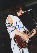 "Ken Hensley ""Uriah Heep"" signed 5x7 inch photo autograph"