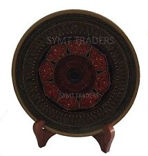 New Wooden Traditional Lacquer Work DisplayPlate Decoration Stand Handmade Gift