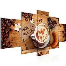 WANDBILDER XXL BILDER Küche Kaffee VLIES LEINWAND BILD KUNSTDRUCK 50125P