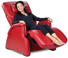 NEW PC-085 Human Touch Perfect Chair Transitional Zero-Gravity Recliner - RED