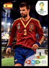 Panini Brazil 2014 Adrenalyn XL Gerard Piqué Spain Base card
