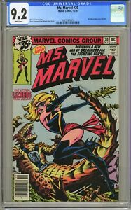 Ms. Marvel #20 - CGC 9.2 WP - Ms. Marvel Dons New Costume