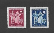 MNH Stamp set / 5th anniversary German Occupation / B a M Native Costumes / 1944