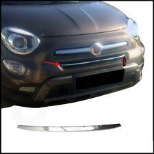 Modanatura Griglia Calandra Cromata acciaio cromo Per Fiat 500X cromata profilo