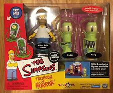 The Simpsons Treehouse of Horror Homer, Kodos and Kang New