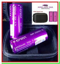 2 Batterie 26650 EFEST Pila Ricaricabile Litio 4200mAh 50A Li-ion Lithium vape