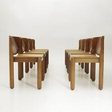 otto sedie modello 122 di Vico Magistretti per Cassina anni '60, vintage chairs