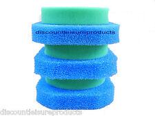 Oase Filtoclear 6000 Ensemble Mousse filtre 3 Blue & 3 vert éponge