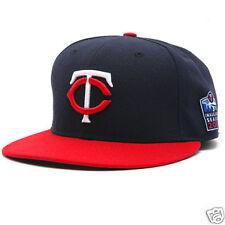 Minnesota Twins New Era Hat Cap Baseball 7 1/2 Patch
