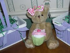 "BEARINGTON -- 10"" BIRTHDAY BEAR-CASEY CUPCAKE-NEW"