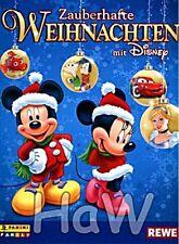 REWE Zauberhafte Weihnachten mit Disney, Komplett alle 150 Sticker mit Leeralbum