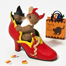 Charming Tails You're the Fire in My Sole 4023631 NEW Halloween Fall Autumn