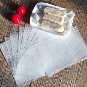 50 feuilles de papier journal cire papier de soie de noël mariage bonbons