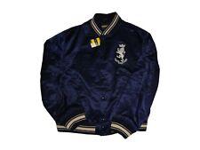 Ralph Lauren Rugby Satin Baseball Jacket XXL NWT Vintage Stadium Bear Bomber 2XL