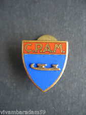 DISTINTIVI PATTINAGGIO C.P.A.M. MILANO 1965 SMALTI OLD ICE SKATING BADGE PINS