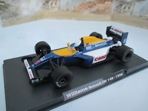 WILLIAMS RENAULT FW 14B - 1992 F1 race car model by ATLAS EDITIONS