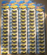 Lot Of 64 BRAND NEW SEALED 2020 Hot Wheels Yellow '91 Mazda MX-5 Miata 208/250