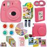 Fujifilm Mini 9 Instant Camera Flamingo Pink + 20 Sheets Deluxe Accessory Bundle