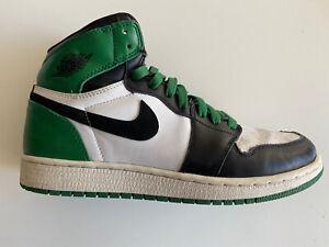 Nike Air Jordan 1 High Retro GS Boston Celtics - Size US 7