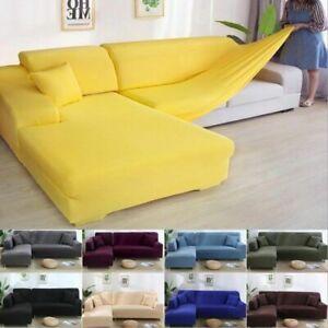 Stretch Sofa Cover All-Inclusive Fabric Non-Slip Sofa Cover Corner Couch Cover