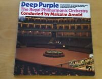 Deep Purple Royal Philharmonic Orchestra Gatefold Vinyl LP SHVL767 A1/B1 NM #2
