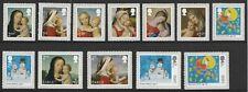 GB Christmas set (12 stamps) MNH 2017