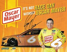 2020 RYAN NEWMAN NASCAR  #6 OSCAR MAYER AUTOGRAPHED POSTCARD
