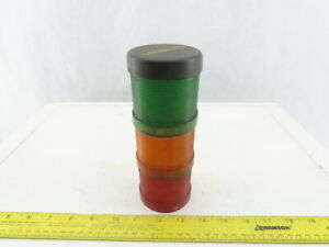 Siemens 8WD4 400-1 Red Green & Amber Stack light